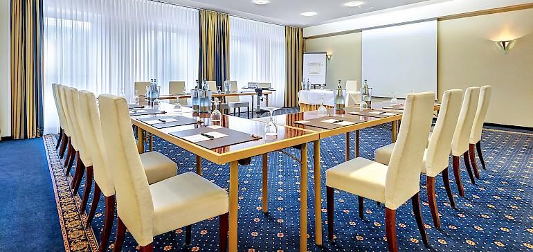 Voorbeeld van een vergaderruimte
