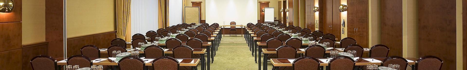 Conferentie in de Kaisersaal
