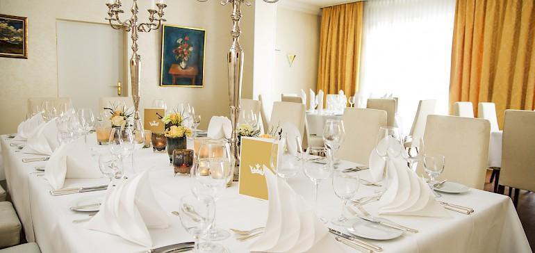 Voorbeeld van een bruiloft in de Kardinal von Galen-zaal