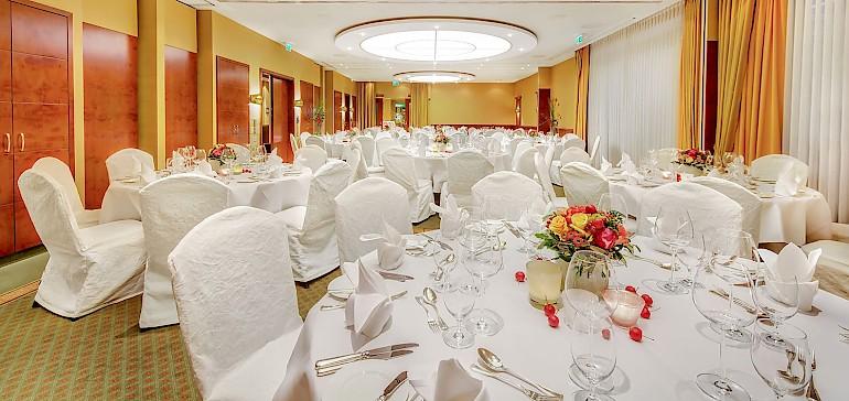 Voorbeeld van een bruiloft in de Kaisersaal