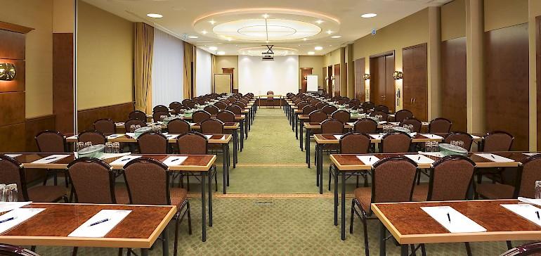 Conferentie in de Kaisersaal met 80 personen