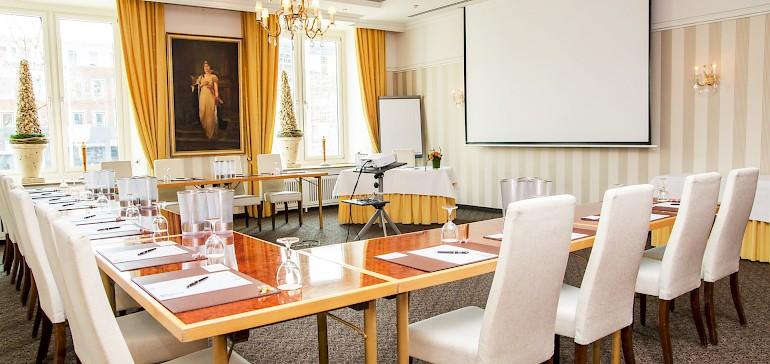 Conferentie in de Luisensaal met 15 personen