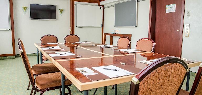 Conferentie in de Geheimratszimmer met 8 personen