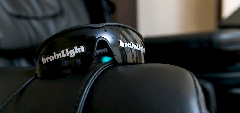 De Brainlight bril zorgt voor de ultieme rust