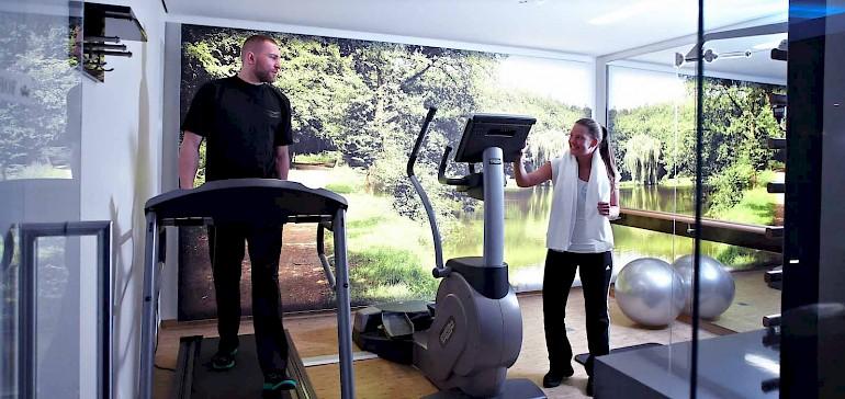 Blijf samen fit in onze fitnessstudio