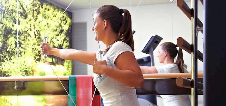 Met de Kinesis-Trainings-Wand tot 250 verschillende oefeningen doorvoeren