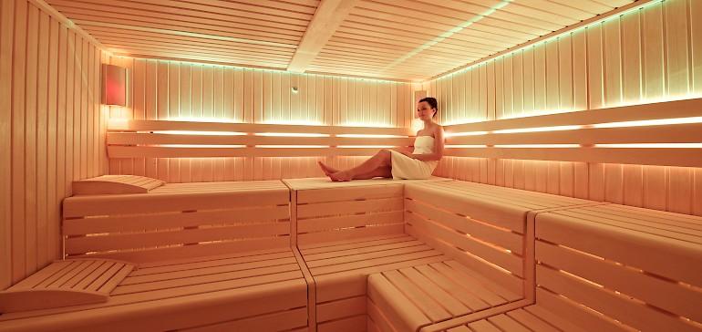 Kom tot rust in een van onze sauna's