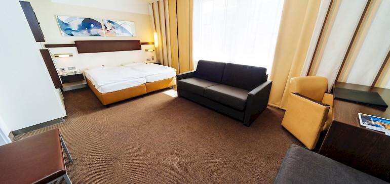 De ideale kamer voor een weekendje weg met het gezin